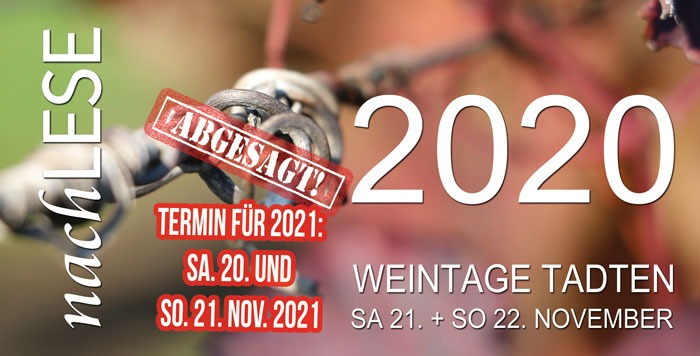 Absage Nachlese 2020